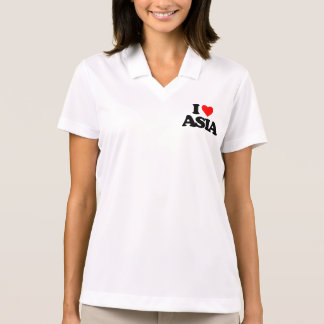 I LOVE ASIA POLO T-SHIRTS