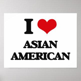 I Love Asian-American Print