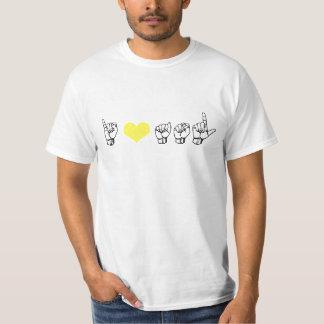 I Love ASL (American Sign Language) Basic T T-Shirt