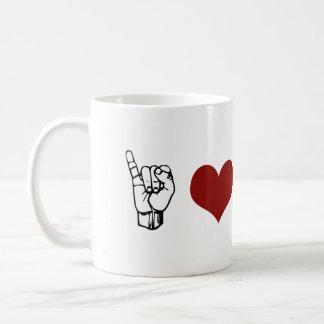 I Love ASL Mug
