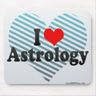 I Love Astrology Mousepad