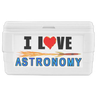 I Love Astronomy Chest Cooler