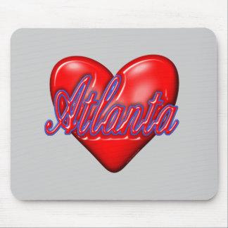I Love Atlanta Mousepads