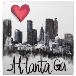 I love Atlanta Napkin