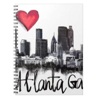 I love Atlanta Notebooks