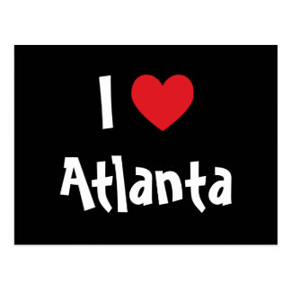 I Love Atlanta Postcard