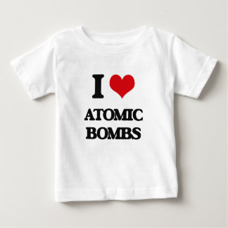 I Love Atomic Bombs Tshirt