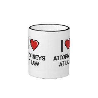 I love Attorneys At Law Ringer Mug
