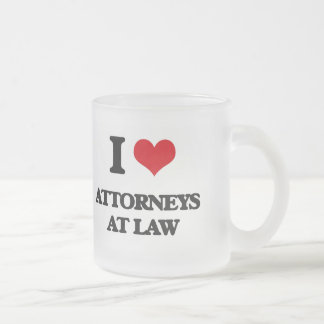 I love Attorneys At Law Coffee Mugs