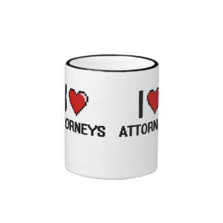 I love Attorneys Ringer Mug