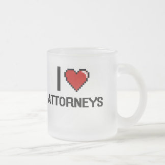 I love Attorneys 10 Oz Frosted Glass Coffee Mug
