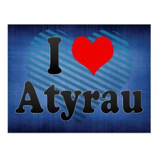 I Love Atyrau, Kazakhstan Postcard