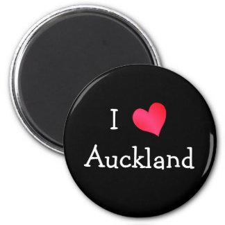 I Love Auckland 6 Cm Round Magnet