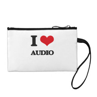 I Love Audio Change Purses