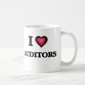 I Love Auditors Coffee Mug