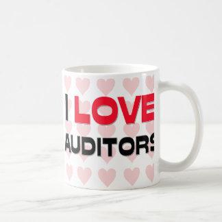 I LOVE AUDITORS COFFEE MUGS