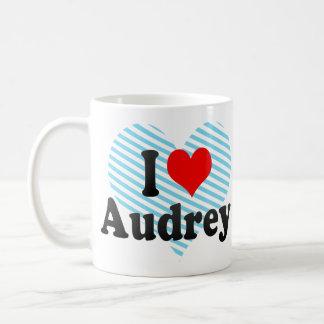 I love Audrey Mugs