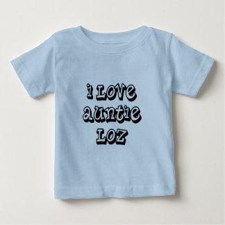 I Love Auntie Loz Baby T-Shirt