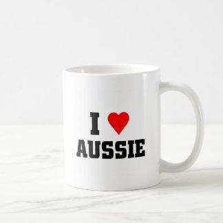 I Love Aussie Coffee Mug
