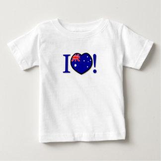 I Love Australia Infant T-shirt