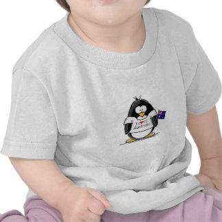 I Love Australia Penguin Tee Shirts