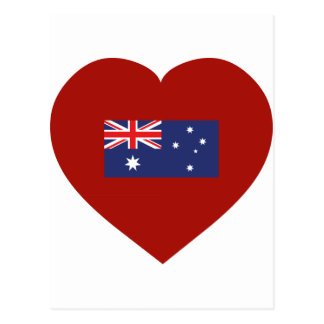 I Love Australia Postcard