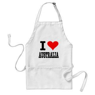 I Love Australia Standard Apron