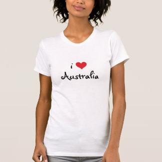 I Love Australia T Shirts