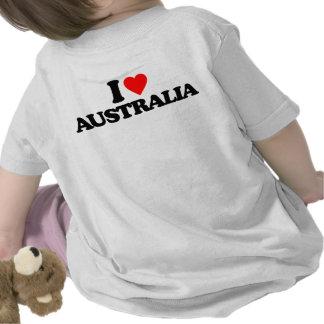 I LOVE AUSTRALIA TEE SHIRT