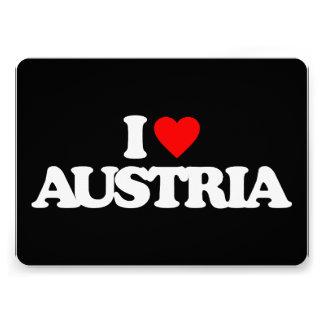 I LOVE AUSTRIA CARD