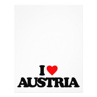 I LOVE AUSTRIA FLYER