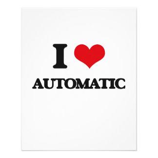 I Love Automatic Custom Flyer