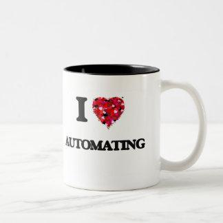 I Love Automating Two-Tone Coffee Mug