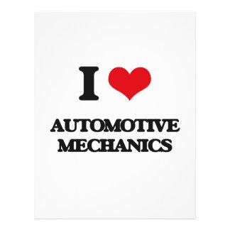 I love Automotive Mechanics Flyer