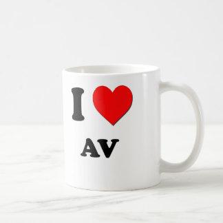I Love Av Coffee Mug