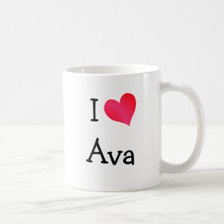 I Love Ava Mug