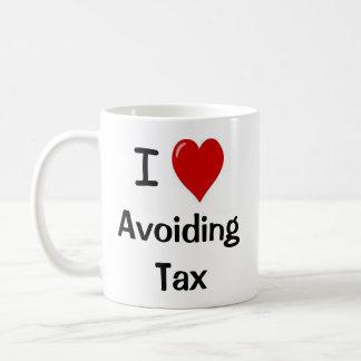 I Love Avoiding Tax I Heart Tax Avoidance Coffee Mugs