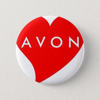I Love AVON 6 Cm Round Badge
