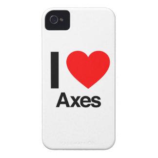 i love axes iPhone 4 case