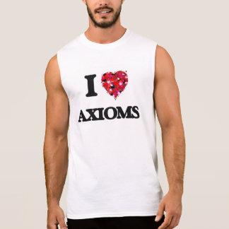 I Love Axioms Sleeveless Shirts