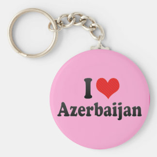 I Love Azerbaijan Key Ring