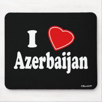 I Love Azerbaijan Mouse Pad
