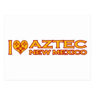 I Love Aztec, NM Postcard