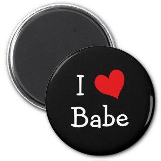 I Love Babe Magnet