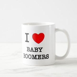 I Love Baby Boomers Mug