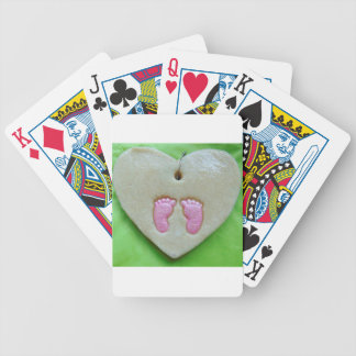 I love baby feet poker deck