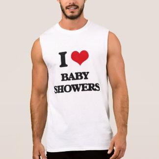I love Baby Showers Sleeveless Shirt