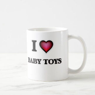 I Love Baby Toys Coffee Mug