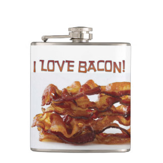 I Love Bacon Flask! Flask