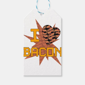 I love Bacon Gift Tags